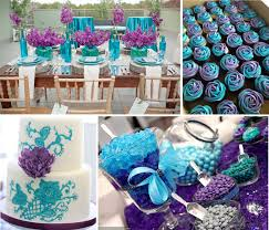 Home Wedding Decorations Ideas Decor Blue And Purple Wedding Decoration Ideas Sunroom Basement