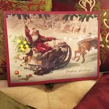 Lighted Santa Sleigh Reindeer Set by Santa U0027s Sleigh Ride Lighted Canvas U2013 Lisa Robertson