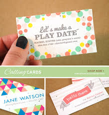 new personalized moving announcements calling cards
