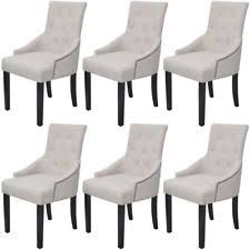 linen dining chair linen dining chairs ebay