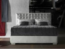 double bed with upholstered headboard dorsey bed by milano bedding