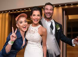 katy perry wedding dress katy perry proves she s the best wedding guest by