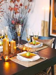 modern furniture design thanksgiving table setting and