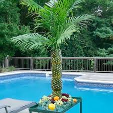 themed serving tray how to make a pineapple palm tree for a serving tray themed