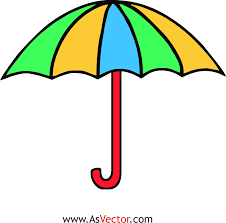 umbrella clipart coloring pages umbrella day coloring pages id