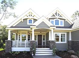 craftsman style home plans one story corglife