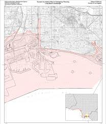 Map Of Venice Beach California Tsunami Could Come With No Warning L A Now Los