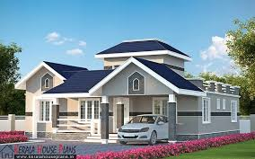 House Designs And Plans Three Bedroom Kerala Model House Elevation Kerala House Design