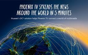 a tv network that spreads the news around the world in 5 minutes