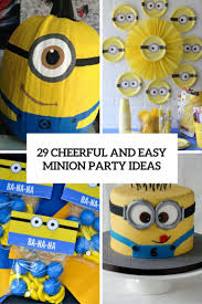 minions party ideas 29 cheerful and easy minion party ideas shelterness