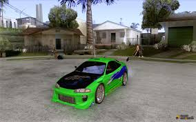 mitsubishi eclipse 1995 custom eclipse fnf for gta san andreas