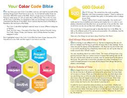 Color Meanings Chart by The Color Code Bible