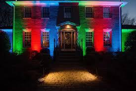 Colored Landscape Lighting Lighting Design Ideas Color Saturation Nashville