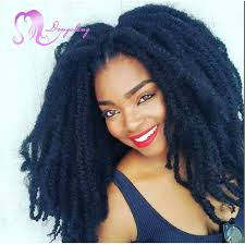 crochet marley hair afro marley hair crochet box braids hair 18 crochet