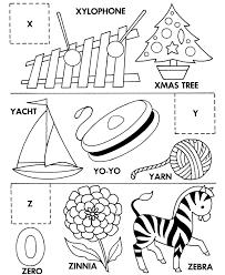 alphabet cut u0026 paste abc activity sheets letter matching x y z