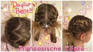 Coole Frisuren F Lange Haare Geflochten by Variation Französischer Zopf Flechtfrisur Dicht Am Kopf