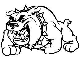 Scary Bulldog Coloring Pages Scary Bulldog Coloring Pages Best Scary Coloring Paes