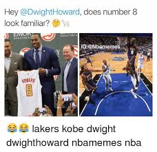 Dwight Howard Memes - hey howard does number 8 look familiar health ca health ca ig