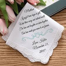 personalized wedding joyful tears personalized wedding handkerchief wedding weddings