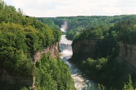 Robert H Treman State Park Map by Letchworth State Park Wikipedia