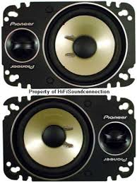 pioneer 4x6 pioneer ts p462 car audio 4x6 2 way component plate speakers ts
