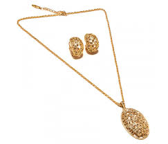 earring design designs fancy shape with cz pendant earring design gold plated set