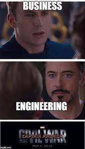 Civil Engineering Meme - marvel civil war 1 meme imgflip
