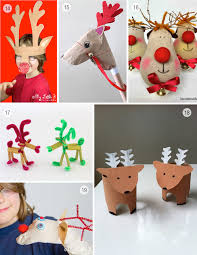 Kids Reindeer Crafts - 24 adorable reindeer crafts the craft train