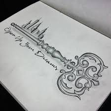 stunning fairytale key tattoo u003c3 open up your tattoos and pier u2026