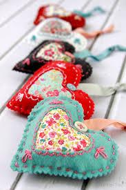 diy fabric valentines