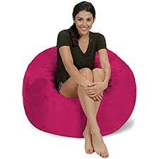Lovesac Vs Ultimate Sack Amazon Com Cordaroy U0027s Chenille Bean Bag Chair Charcoal Full