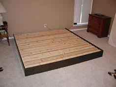 homemade platform bed frame l97 for awesome decorating home ideas