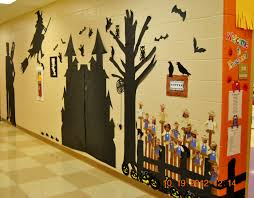 our hallway wall for halloween pinterest princesses of peebles