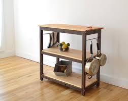 diy kitchen cart wood kitchen island etsy