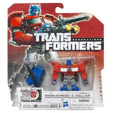 transformers generations toy optimus prime u0026 roller action