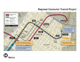 Metrolink Los Angeles Map by Regional Connector Design Build Contractor Recommended By Metro