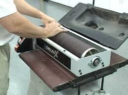 Bench Top Drum Sander How To Use A Drum Sander Youtube
