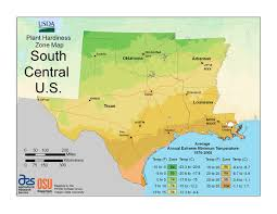 Map Of Central Usa by Usda Plant Hardiness Zone Maps At Lots Of Plants Com