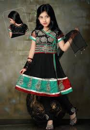 gorgeous kids anarkali frocks collection 2017