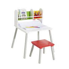 bureau enfant 5 ans bureau avec rangements et tabouret artibul création oxybul