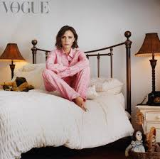 American Flag Bed In A Bag Victoria Beckham Poses In Pyjamas On Her Old Bed As She Returns To