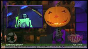 outdoor strobe light halloween glowing halloween decorations using black light youtube