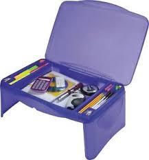 kids folding lap desk blue kids folding lap desk storage box with compartments ebay