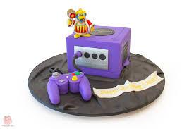 custom cakes nintendo gamecube cake birthday cakes
