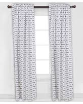 Black And White Window Curtains Black And White Curtain Panels Sales Specials