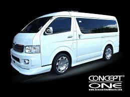 toyota hiace super grandia best photos and information of