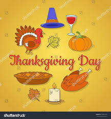 thanksgiving day concept maple leaves ripe stock vector 728041252