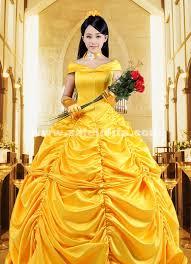 Belle Halloween Costume Adults 2015 Disney Cartoon Cosplay Bell Gowns Women Halloween Princess