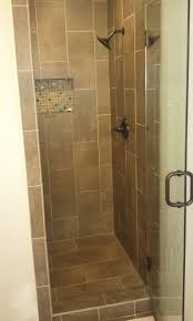 bathroom tile design ideas pictures check out this shower makeover using discounted travertine stone
