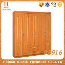 Door Armoire Bedroom Furniture Rb916 Mdf Almirah Pvc Door Armoire Wooden Panel